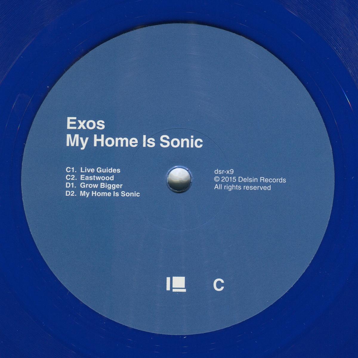 Delsin Records   Exos   My Home Is Sonic   Delsin Records